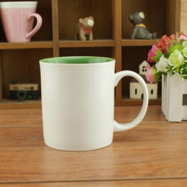 Dual Color Silkscreen Ceramic Mug Household Products Drinkwares New Products HDC1077-WGR