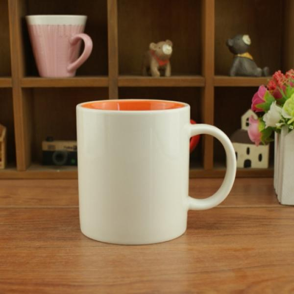 Dual Color Silkscreen Ceramic Mug Household Products Drinkwares New Products HDC1077-WWO