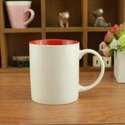 Dual Color Silkscreen Ceramic Mug Household Products Drinkwares New Products HDC1077-WWR