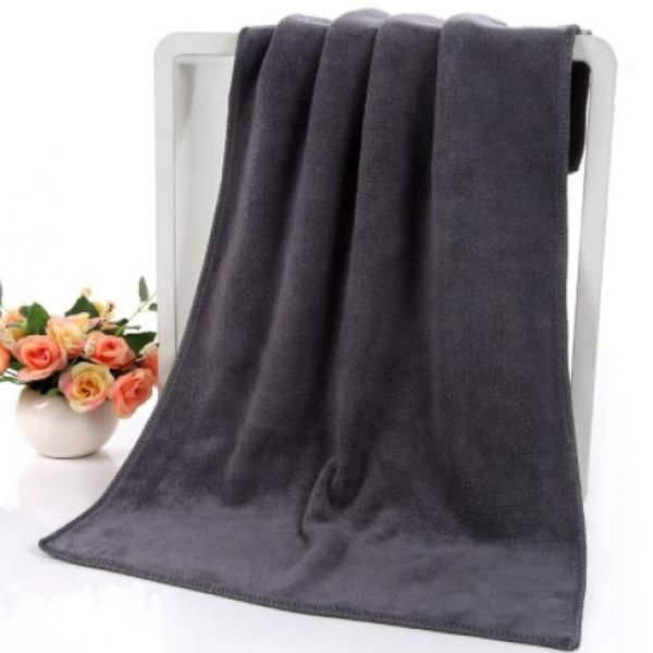 Thick Microfiber Sport Towel Towels & Textiles Towels New Arrivals WSP1012-BLK