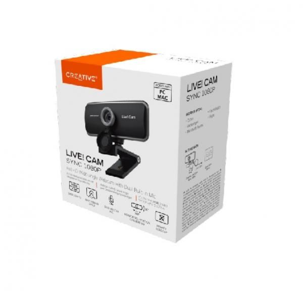Creative LIVE! CAM SYNC 1080P Electronics & Technology Computer & Mobile Accessories EMW1003-1