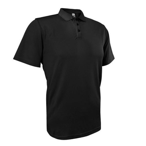 UB04P UNO Fresco Quick Dry Polo Tee Apparel Shirts UB04P_Black