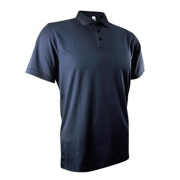 UB04P UNO Fresco Quick Dry Polo Tee Apparel Shirts UB04P_Navy-Blue