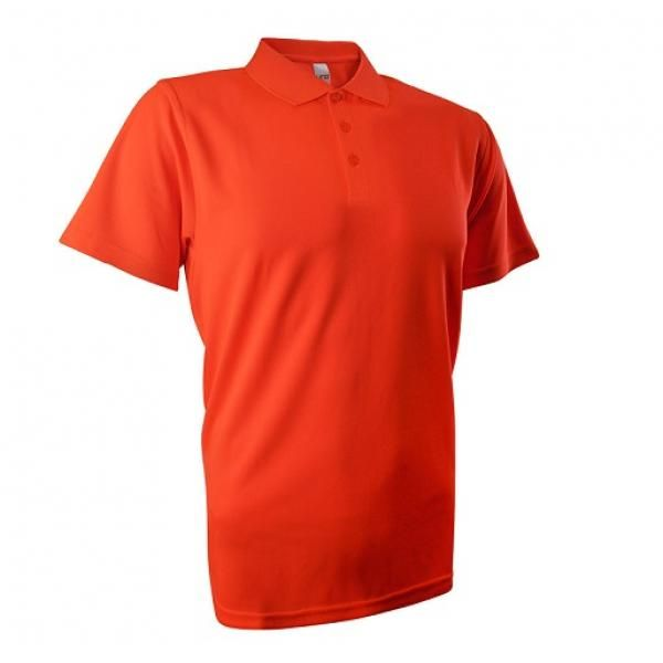 UB04P UNO Fresco Quick Dry Polo Tee Apparel Shirts UB04P_Orange