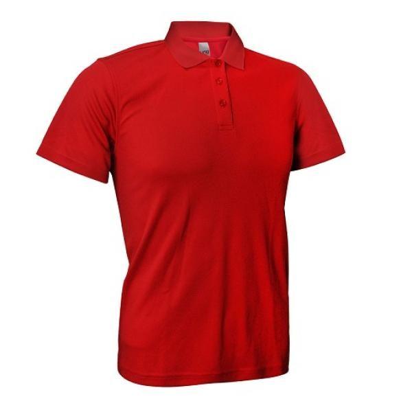 UB04P UNO Fresco Quick Dry Polo Tee Apparel Shirts UB04P_Red