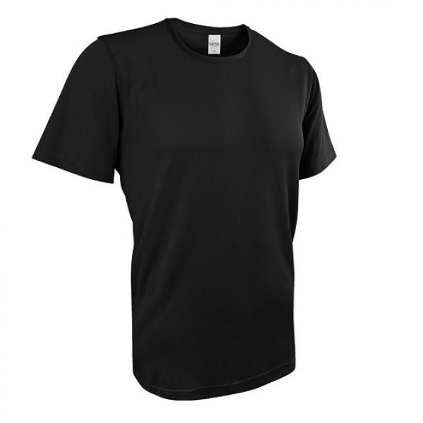 UB03R UNO Fresco Quick Dry Round Neck Tee Apparel Shirts UB03R_Black
