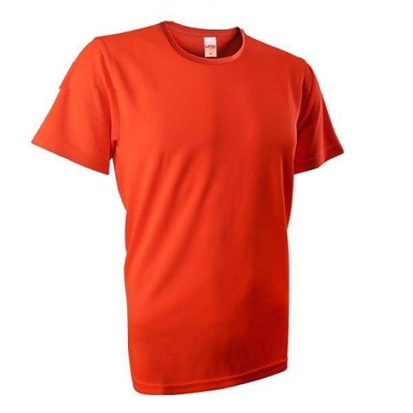 UB03R UNO Fresco Quick Dry Round Neck Tee Apparel Shirts UB03R_Orange