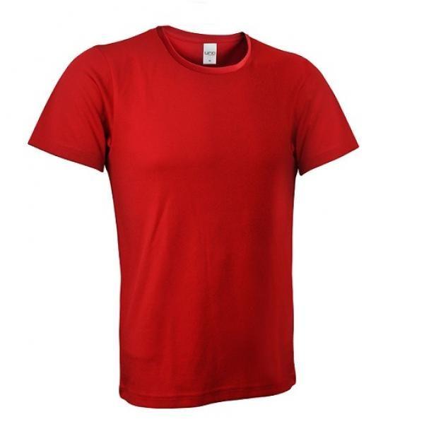 UB03R UNO Fresco Quick Dry Round Neck Tee Apparel Shirts UB03R_Red