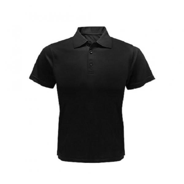 UB11P UNO Lugio Quick Dry Interlock Polo Tee Apparel Shirts UB11P-BK
