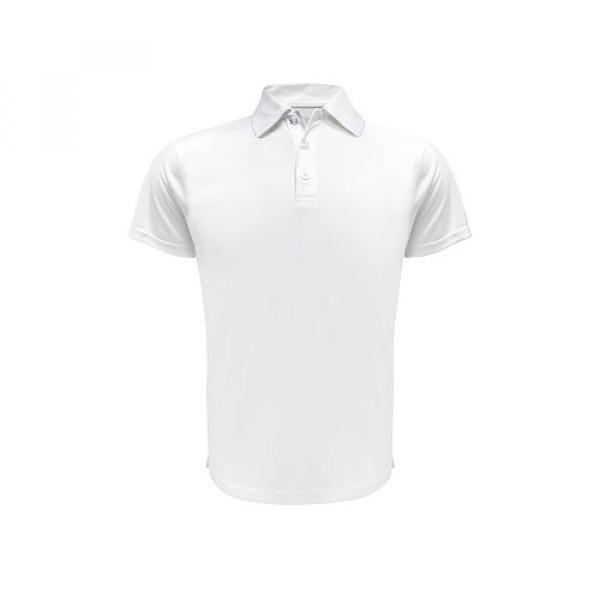 UB11P UNO Lugio Quick Dry Interlock Polo Tee Apparel Shirts UB11P-WH