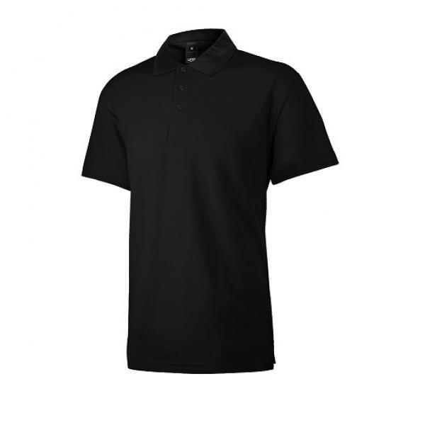 UB08P UNO Supremo CVC Polo Tee Apparel Shirts supremo-black