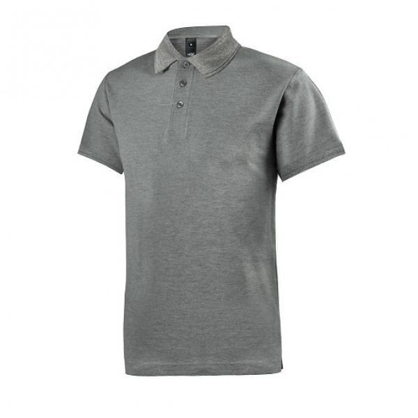 UB08P UNO Supremo CVC Polo Tee Apparel Shirts supremo-grey