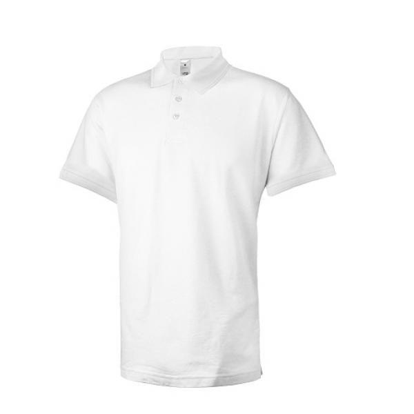 UB08P UNO Supremo CVC Polo Tee Apparel Shirts supremo-white