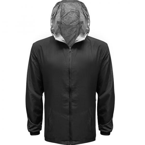 UJ10R UNO Reverso Hoodie Jacket Apparel Jacket 1Black