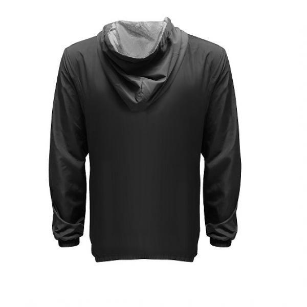 UJ10R UNO Reverso Hoodie Jacket Apparel Jacket 2Black-Back