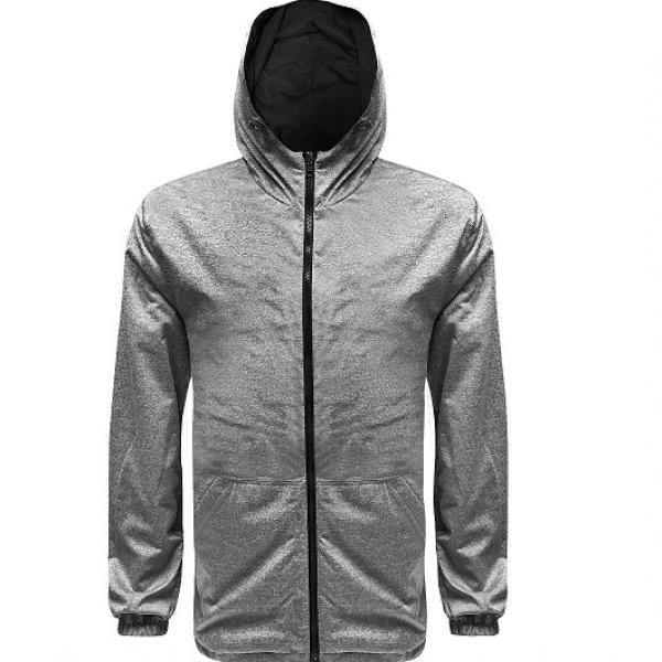 UJ10R UNO Reverso Hoodie Jacket Apparel Jacket 3Grey-Black