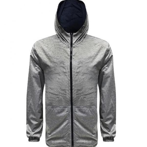 UJ10R UNO Reverso Hoodie Jacket Apparel Jacket 3Grey-Blue