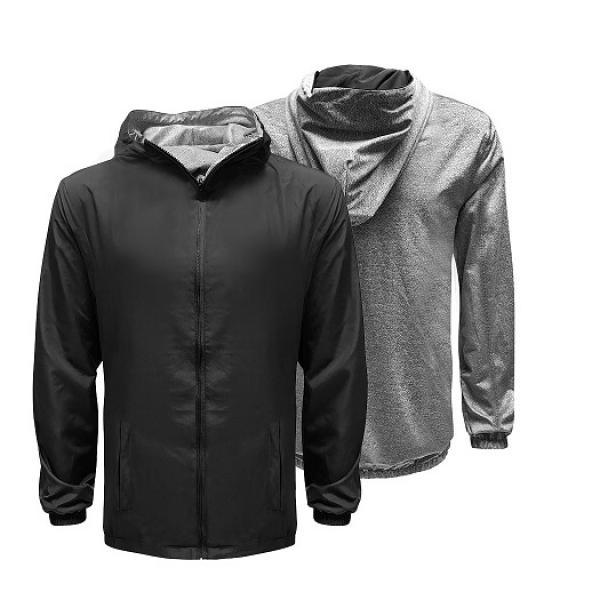 UJ10R UNO Reverso Hoodie Jacket Apparel Jacket uj10r-black