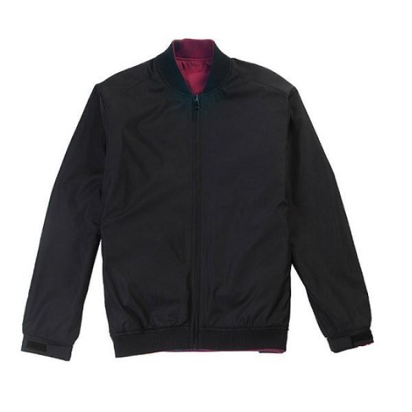 UJ05B UNO Doppio Reversible Jacket Apparel Jacket UJ05B-Black22