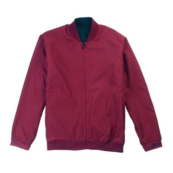 UJ05B UNO Doppio Reversible Jacket Apparel Jacket UJ05B-Maroon22