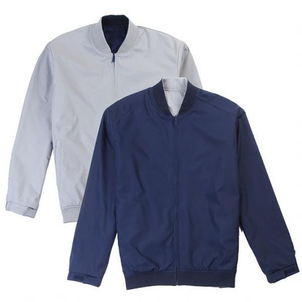 UJ05B UNO Doppio Reversible Jacket Apparel Jacket UJ05B-Navy-Grey