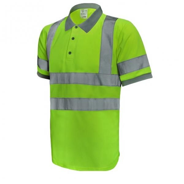 UR02P UNO Reflective Polo Apparel Other Green_Front