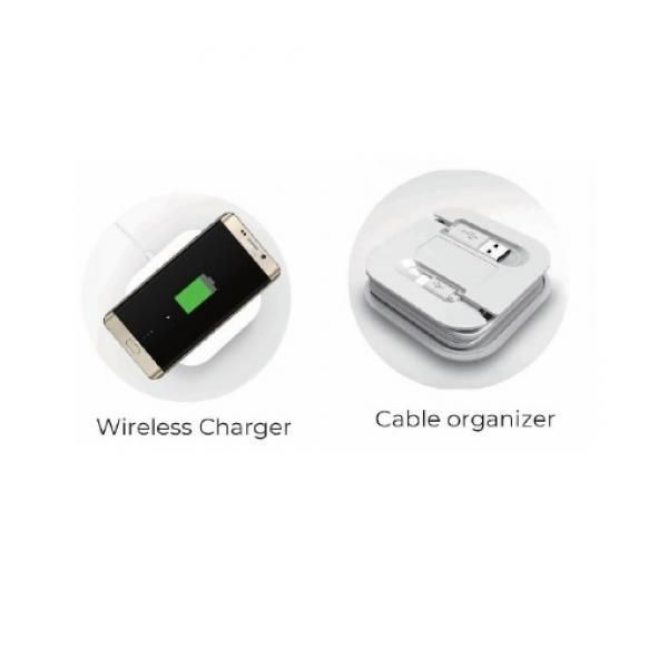 Wireless Charger with Cable Organizer Electronics & Technology EMP1085-01