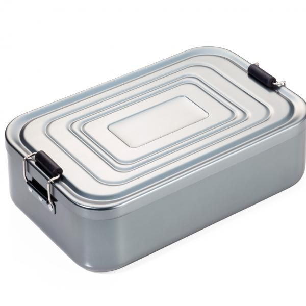 Troika Lunchbox XL New Arrivals Food & Catering Packaging HKL1044-SLV-01