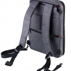 "Troika Backpack ""TROIKA SAFTSACK"" Computer Bag / Document Bag New Arrivals TDB1030-GRY-01"