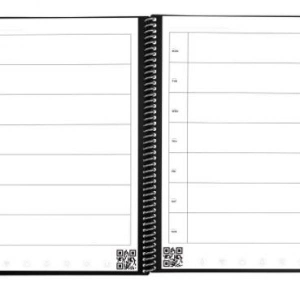 Rocketbook Fusion - Executive (Scarlet Sky) Office Supplies Notebooks / Notepads Notebooks / Notepads New Arrivals ZNO10491
