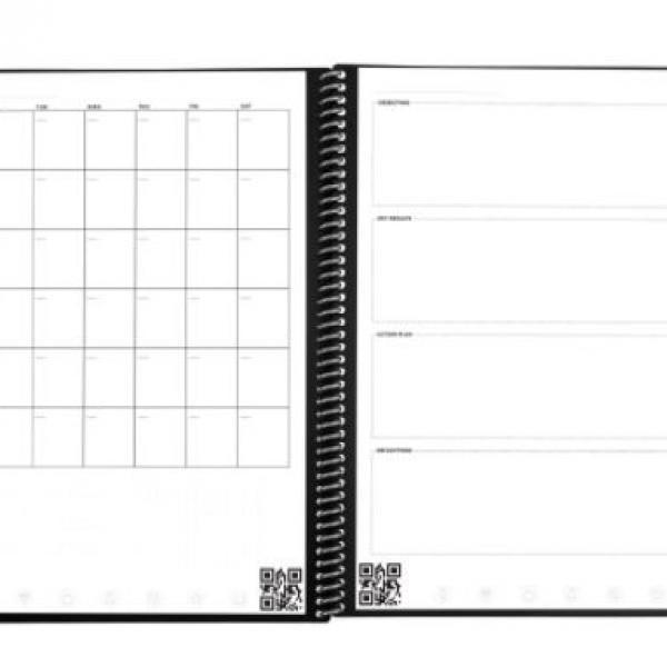 Rocketbook Fusion - Executive (Scarlet Sky) Office Supplies Notebooks / Notepads Notebooks / Notepads New Arrivals ZNO10493