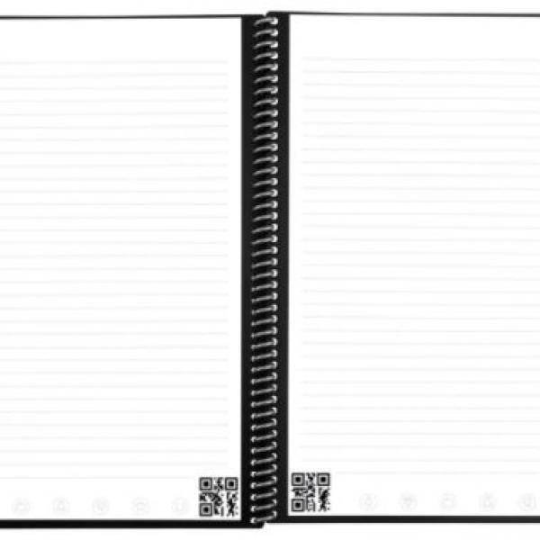Rocketbook Fusion - Executive (Scarlet Sky) Office Supplies Notebooks / Notepads Notebooks / Notepads New Arrivals ZNO10494