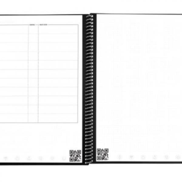 Rocketbook Fusion - Executive (Scarlet Sky) Office Supplies Notebooks / Notepads Notebooks / Notepads New Arrivals ZNO10495