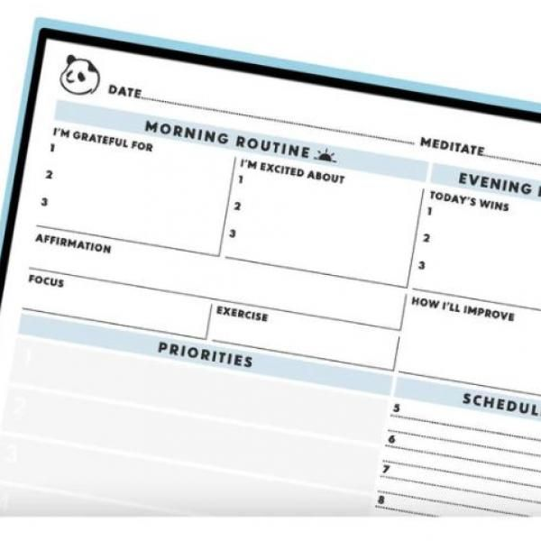 Rocketbook Panda Planner - Letter Office Supplies Other Office Supplies New Arrivals 10574