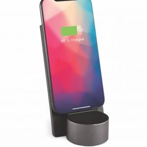 CITY ENERGY wireless charging&Bluetooth speaker Electronics & Technology Other Electronics & Technology Computer & Mobile Accessories New Arrivals EMO1136-DGY-LX-02