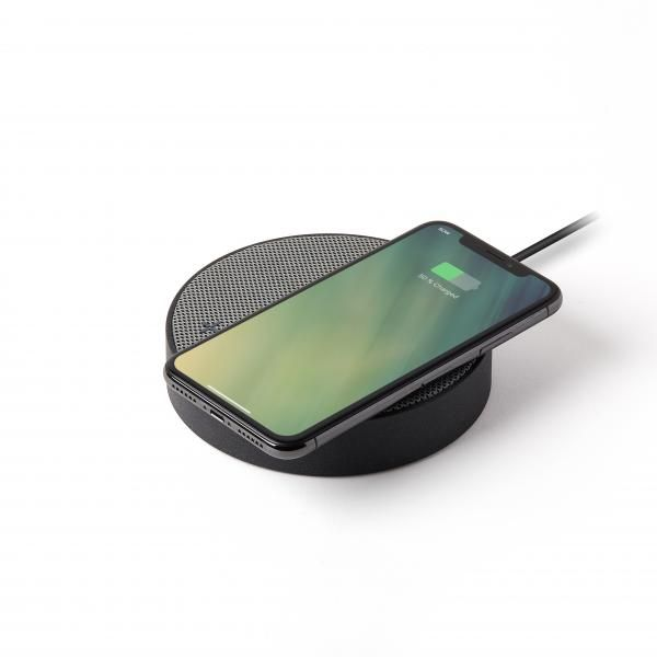 OSLO ENERGY wireless charging &Bluetooth speaker Electronics & Technology Other Electronics & Technology Computer & Mobile Accessories New Arrivals EMO1137-BWG-LX-04