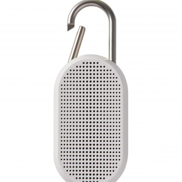 MINO T Bluetooth speaker w/ integrated carabiner Electronics & Technology Other Electronics & Technology Computer & Mobile Accessories New Arrivals EMS1084-WHT-LX-03