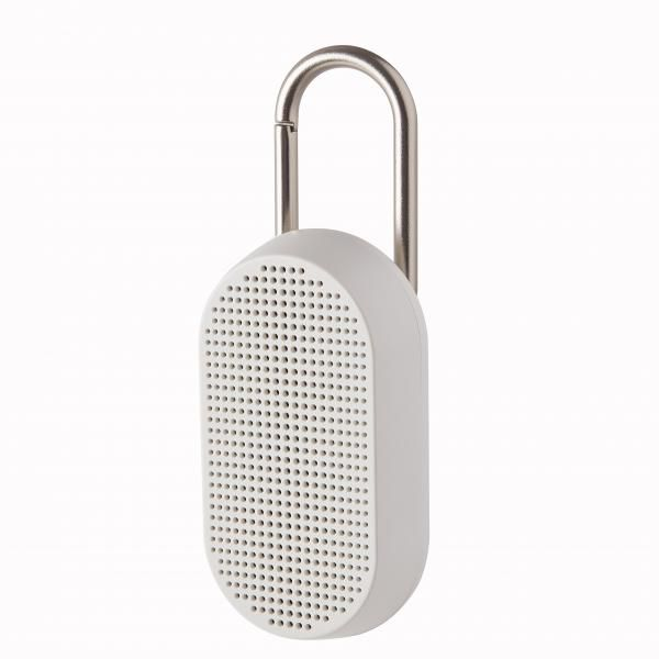 MINO T Bluetooth speaker w/ integrated carabiner Electronics & Technology Other Electronics & Technology Computer & Mobile Accessories New Arrivals EMS1084-WHT-LX-04