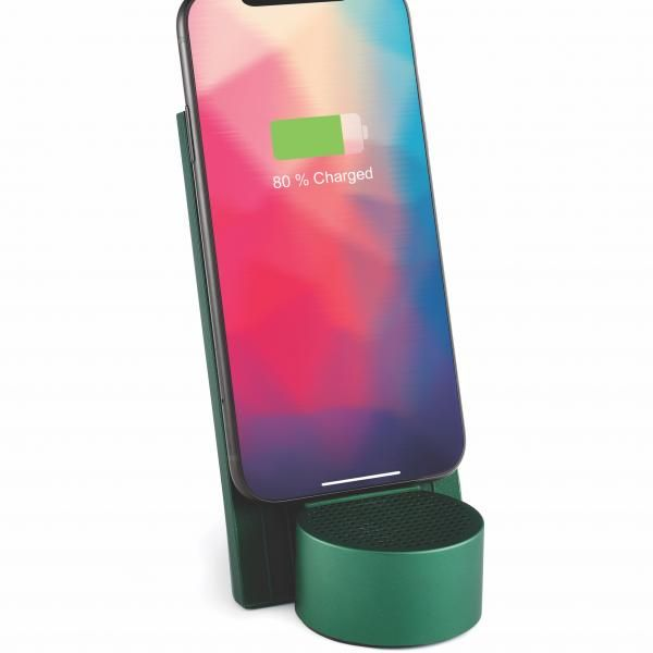CITY ENERGY wireless charging&Bluetooth speaker Electronics & Technology Other Electronics & Technology Computer & Mobile Accessories New Arrivals EMO1136-DGN-LX-02