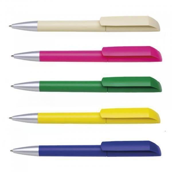 Maxema Flow F1 - MATT AL Plastic Pen Office Supplies Pen & Pencils 1055a