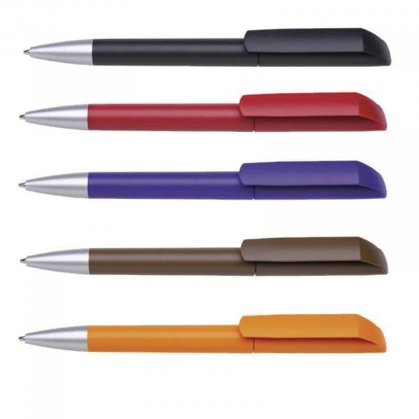 Maxema Flow F1 - MATT AL Plastic Pen Office Supplies Pen & Pencils 1055b