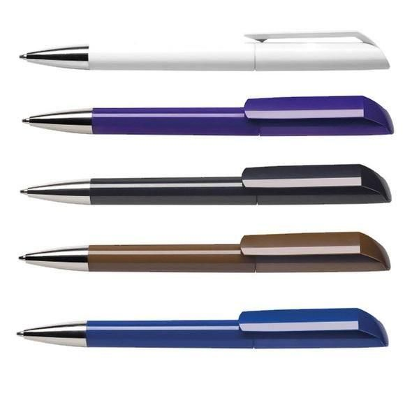 Maxema Flow F1 - C CR Plastic Pen Office Supplies Pen & Pencils 1057b