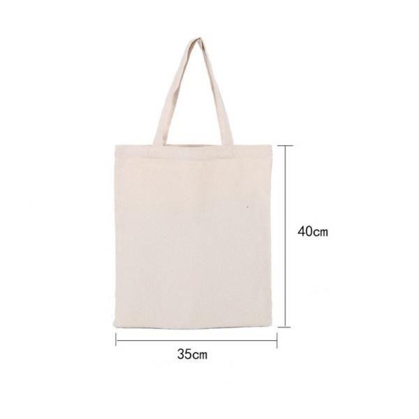 Canvas Tote Bag Tote Bag / Non-Woven Bag Bags New Arrivals 123