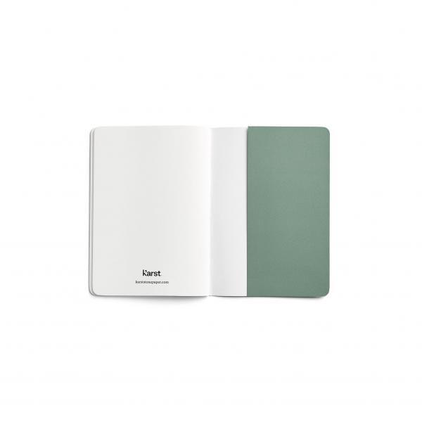 Karst A6 Pocket Journal  Office Supplies Notebooks / Notepads Other Office Supplies Karst-A6-Pocket-Journal-Spread-BackFlyPage-LR