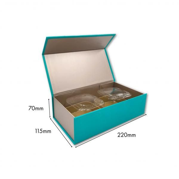 Small Magnetic Mooncake Box New Arrivals Festive Products Food & Catering Packaging Others Food Packaging ST-2pcsCollapsibleBox