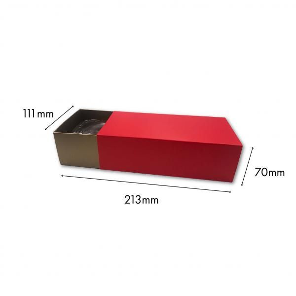 Small Drawer Mooncake Box New Arrivals Festive Products Food & Catering Packaging Others Food Packaging RedGold-2pcsDrawerBox
