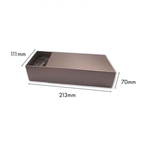 Small Drawer Mooncake Box New Arrivals Festive Products Food & Catering Packaging Others Food Packaging SilverSilver-2pcsDrawerBox