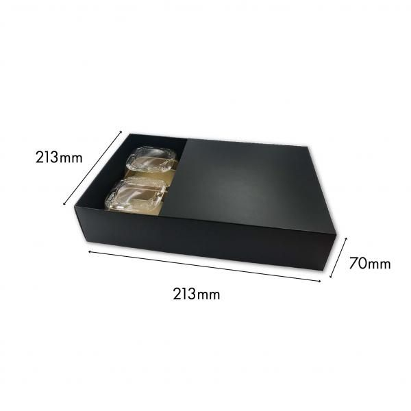 Large Drawer Mooncake Box New Arrivals Festive Products Food & Catering Packaging Others Food Packaging BlackBlack-4pcsDrawerBox