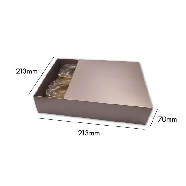 Large Drawer Mooncake Box New Arrivals Festive Products Food & Catering Packaging Others Food Packaging SilverSilver-4pcsDrawerBox