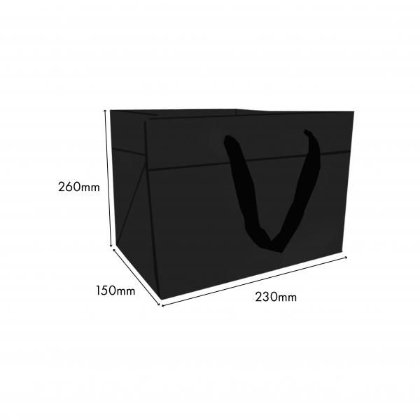 Small Paper Bag New Arrivals Festive Products Food & Catering Packaging Others Food Packaging Black-SmallPaperbag